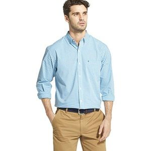 {IZOD} Slim Fit Button Down Long Sleeve